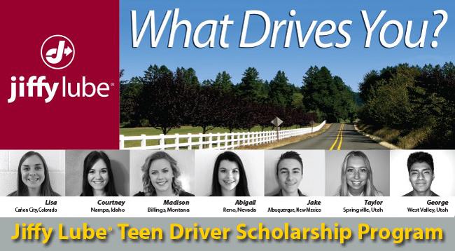 Jiffy Lube Boise >> Jiffy Lube Teen Driver Scholarship Program